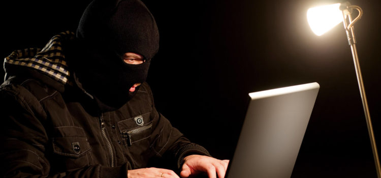 Terror suspect using laptop to share propaganda